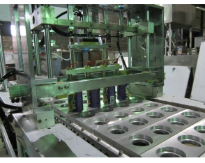Film chips seal covered machine